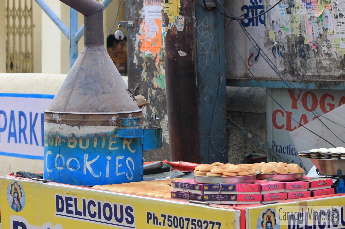 Galletas recién horneadas India