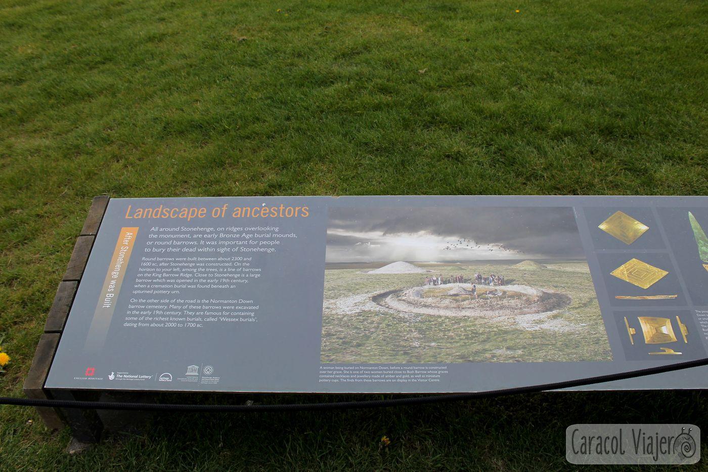 El escenario de los antepasados en Stonehenge
