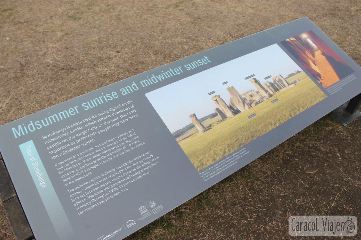 mapa Stonehenge