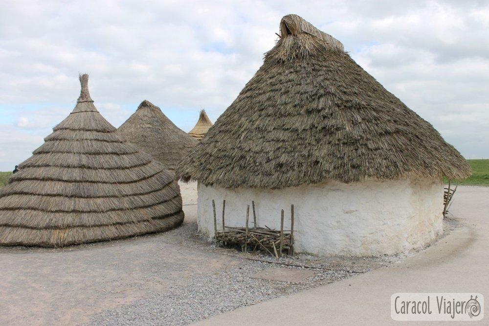 Reconstrucción casas habitantes, Stonehenge