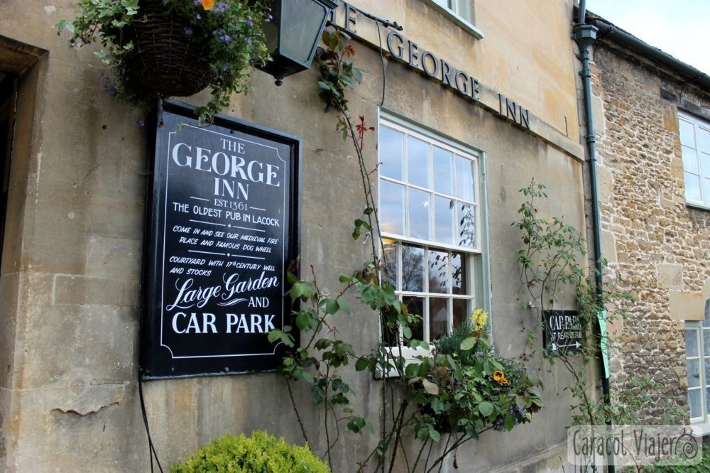 The George Inn, Lacock, el pub más antiguo
