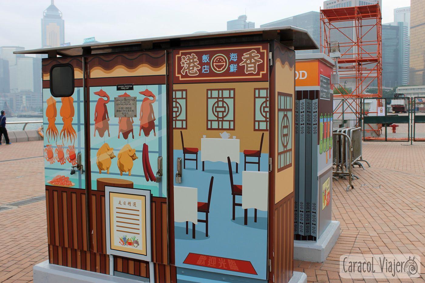 electricidad con arte Hong Kong