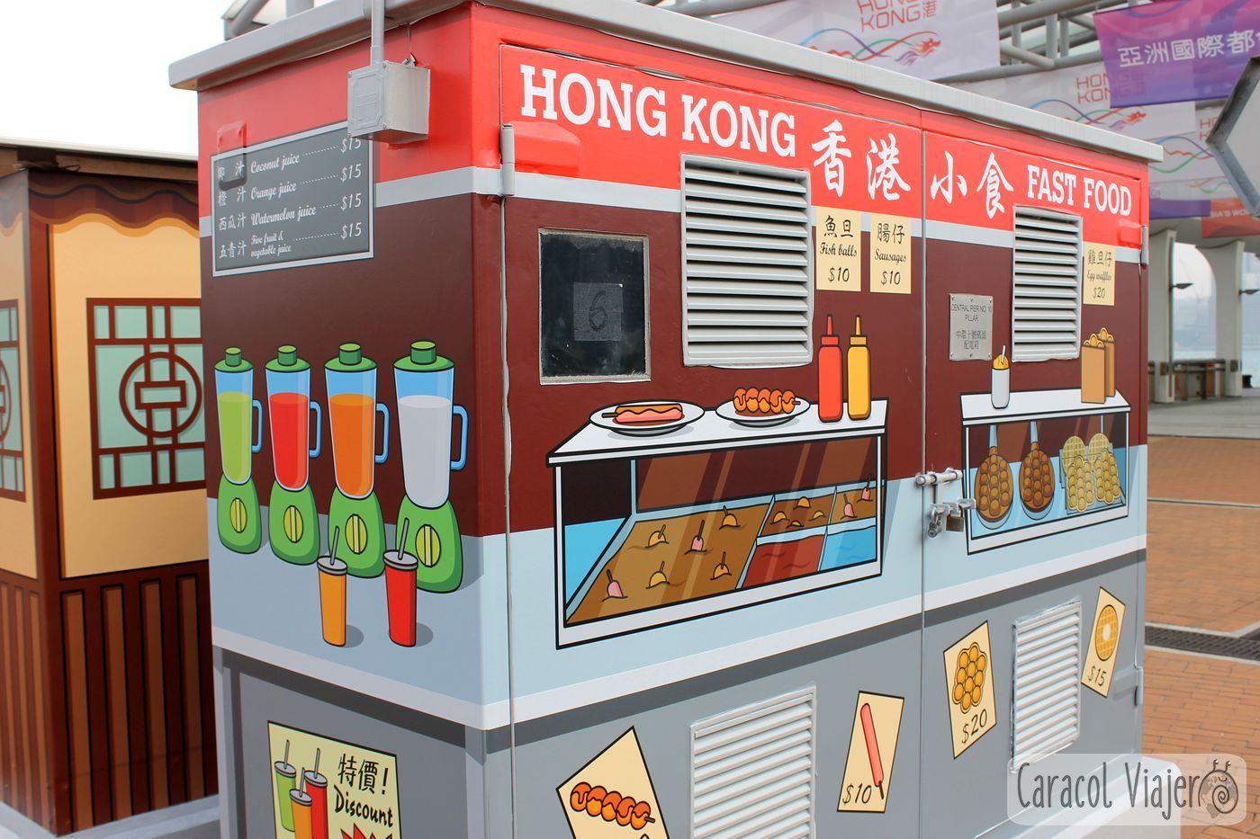 Las casetas de electricidad Hong Kong