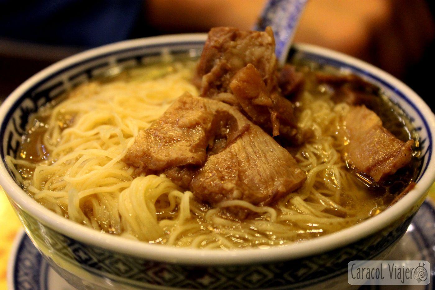 Maks noodles Hong Kong pork soup