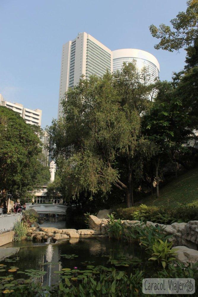 Jardín Botánico vistas edificios