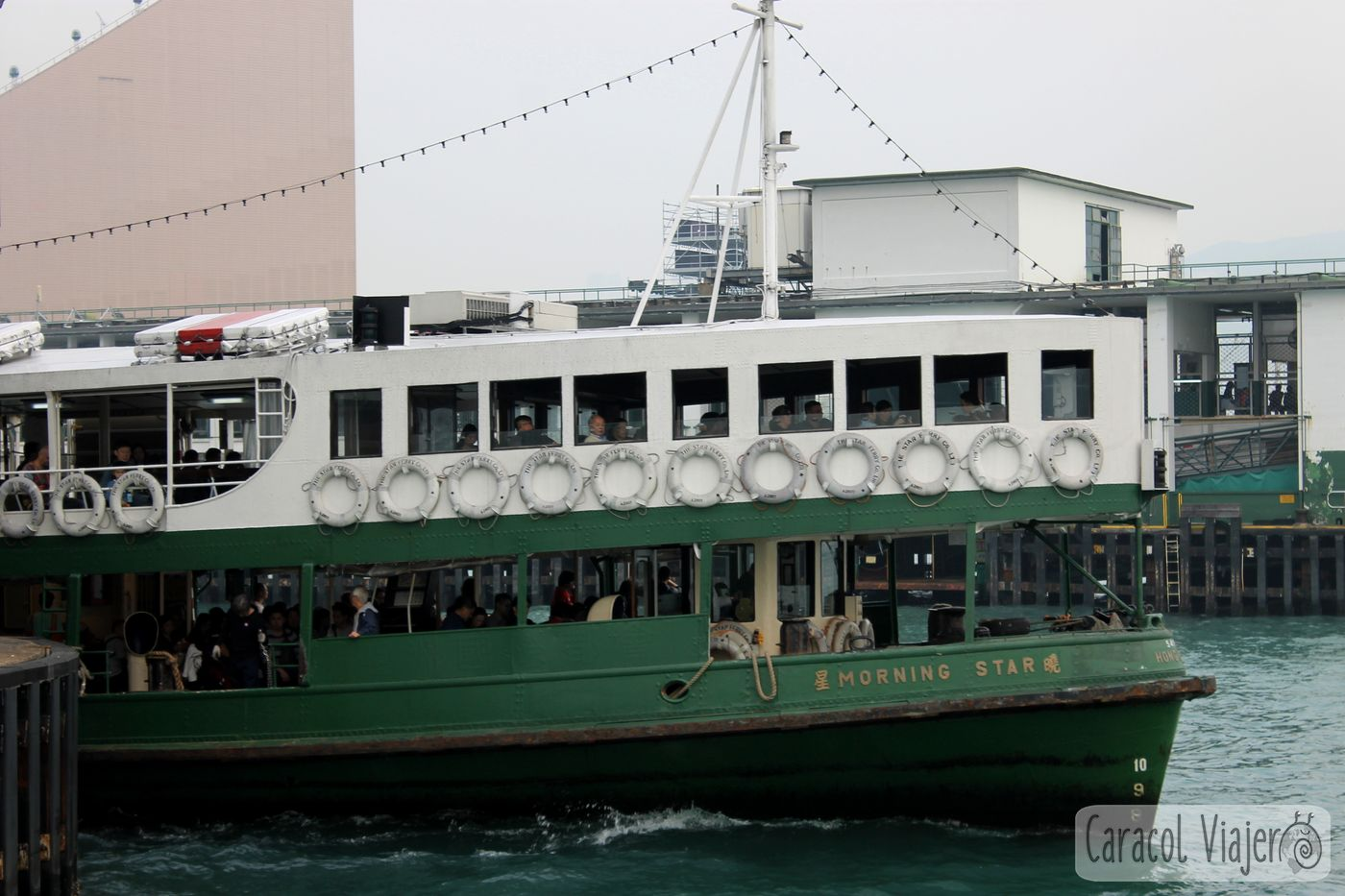 Star Ferry en Hong Kong