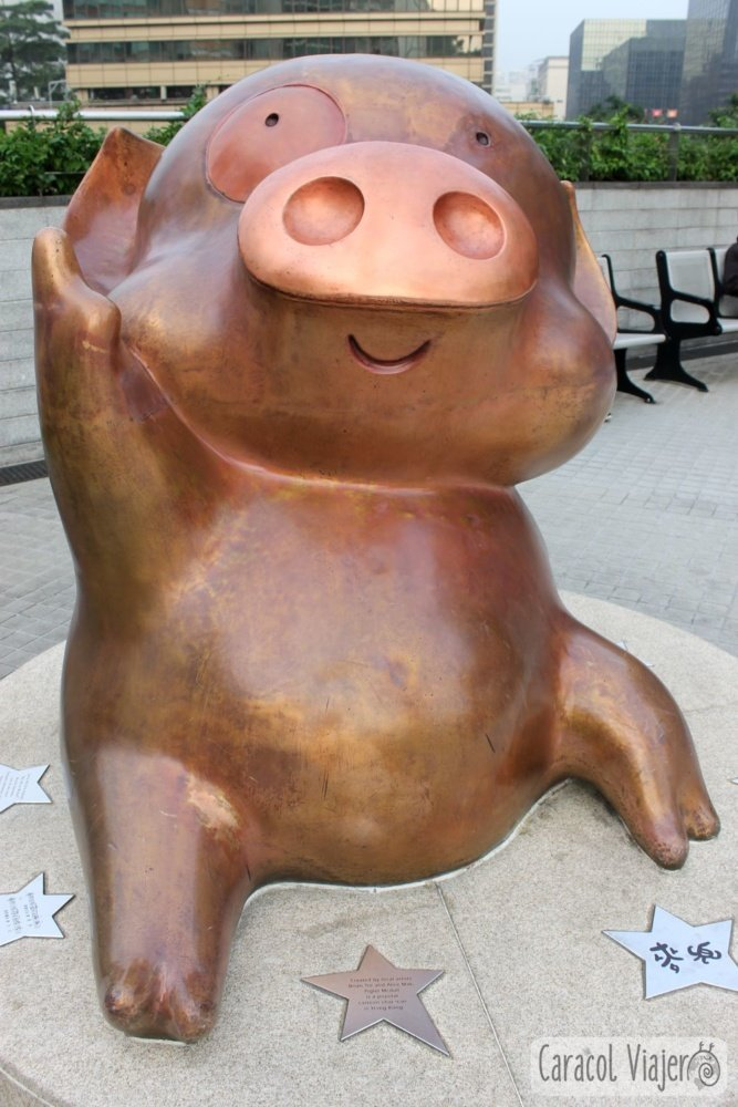 Mcdull estatua Hong Kong
