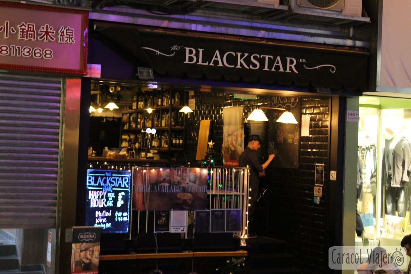 Blackstar happy hour
