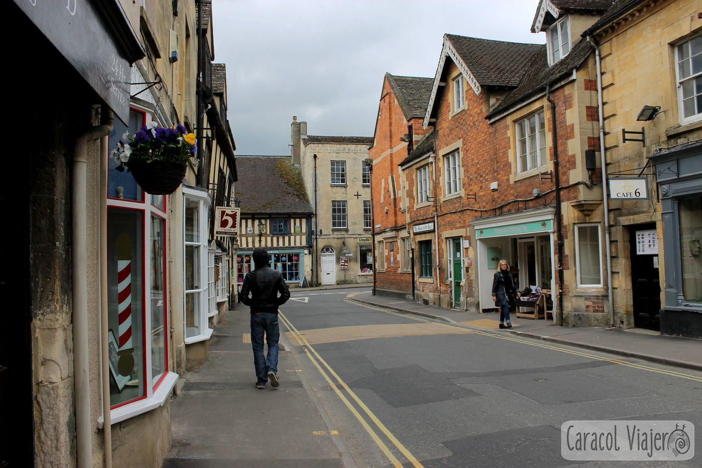 Winchcombe Calle tiendas