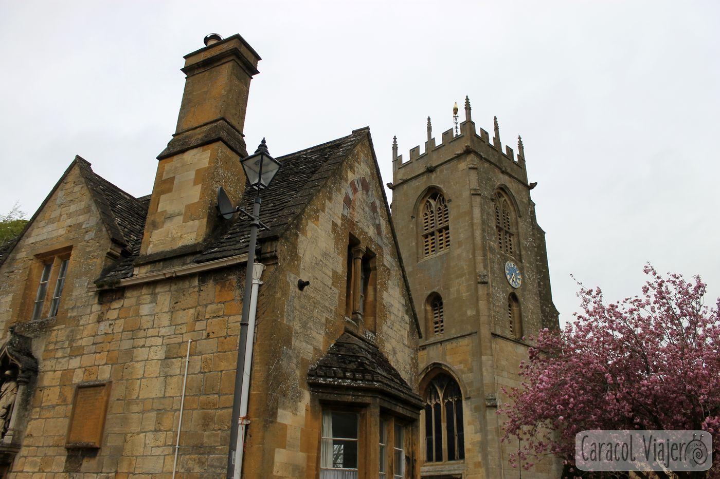 Gargolas iglesia Winchcombe
