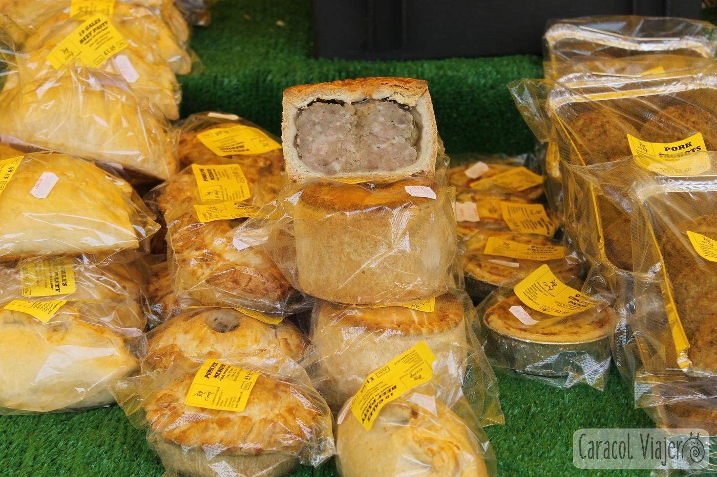 Empanadas de carne en Inglaterra