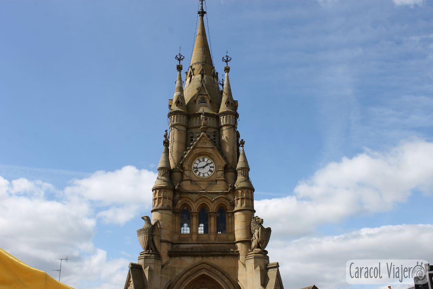 La plaza de Stratford-upon-Avon