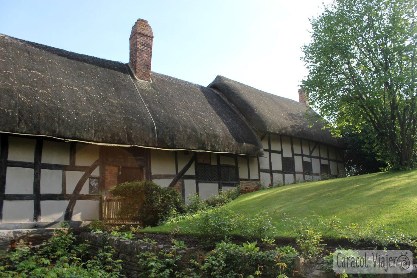Anne Hatthaway Cottage afueras de Straford-upon-Avon