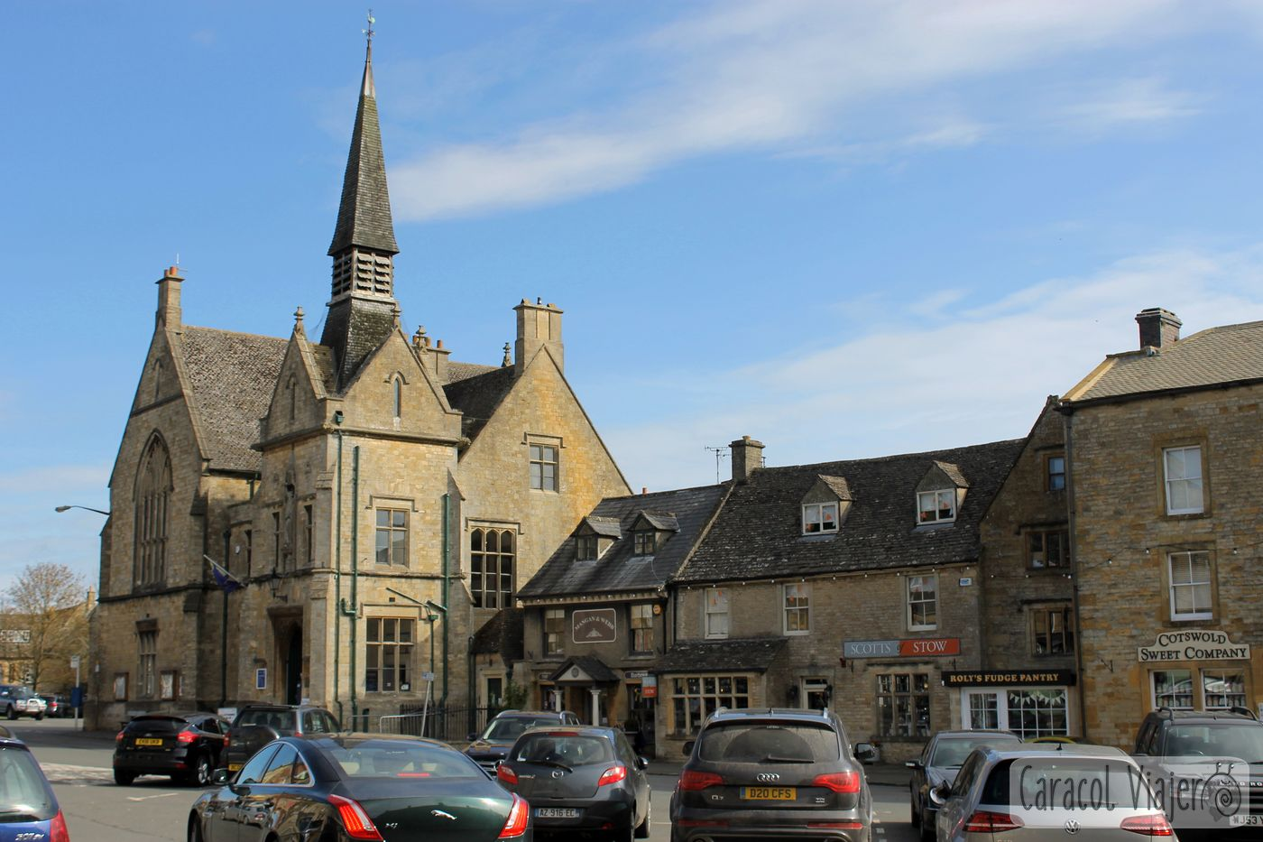 Plaza del mercado en Stow-on-the-Wold