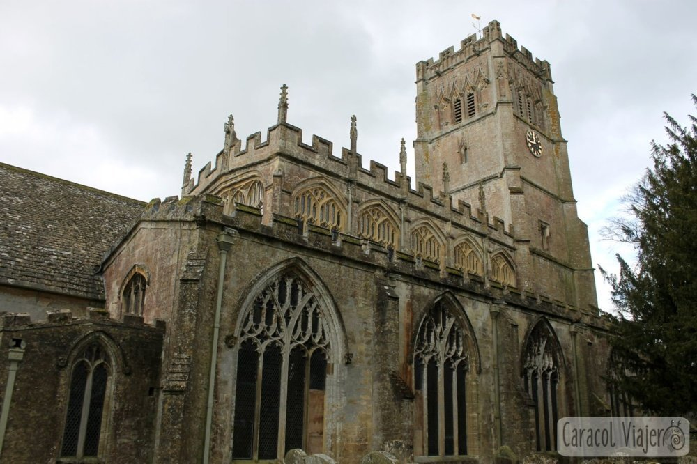 Exterior iglesia Northleach