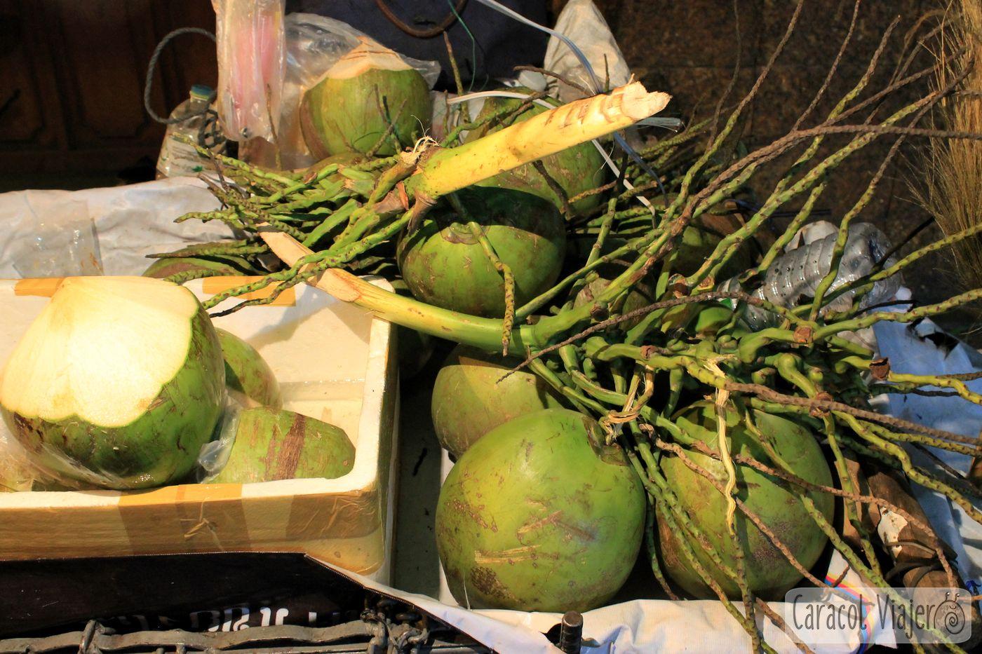 coco verde para beber