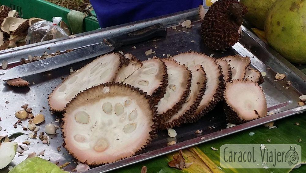 Frutas raras: Interior Marang -Tailandia