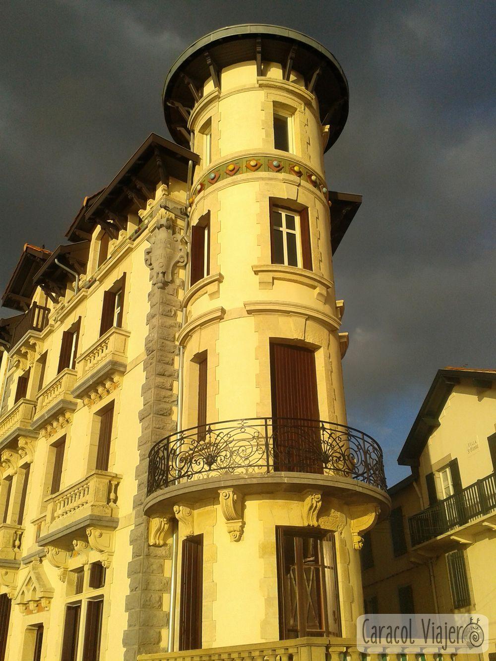 Edificios de San Juan de Luz