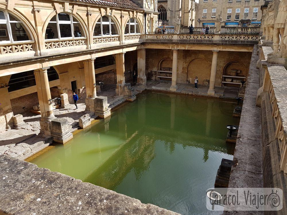 Vistas exteriores termas romanas
