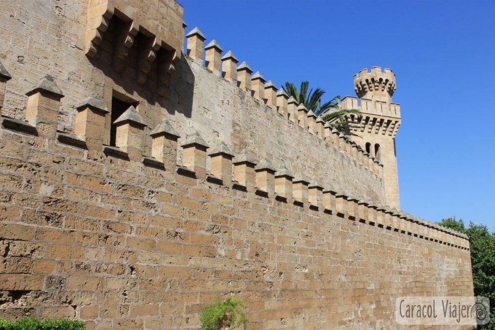 Muro trasero Almudaina