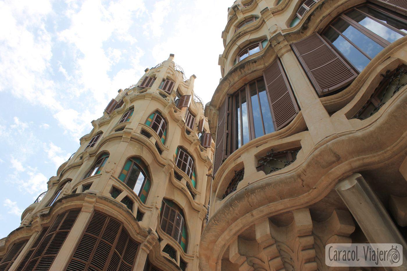 Edificios modernistas Palma