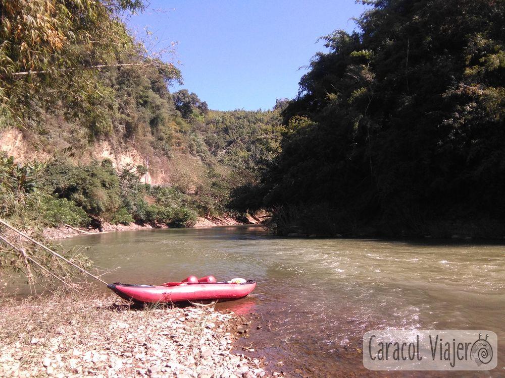 Nam Ha río en Laos
