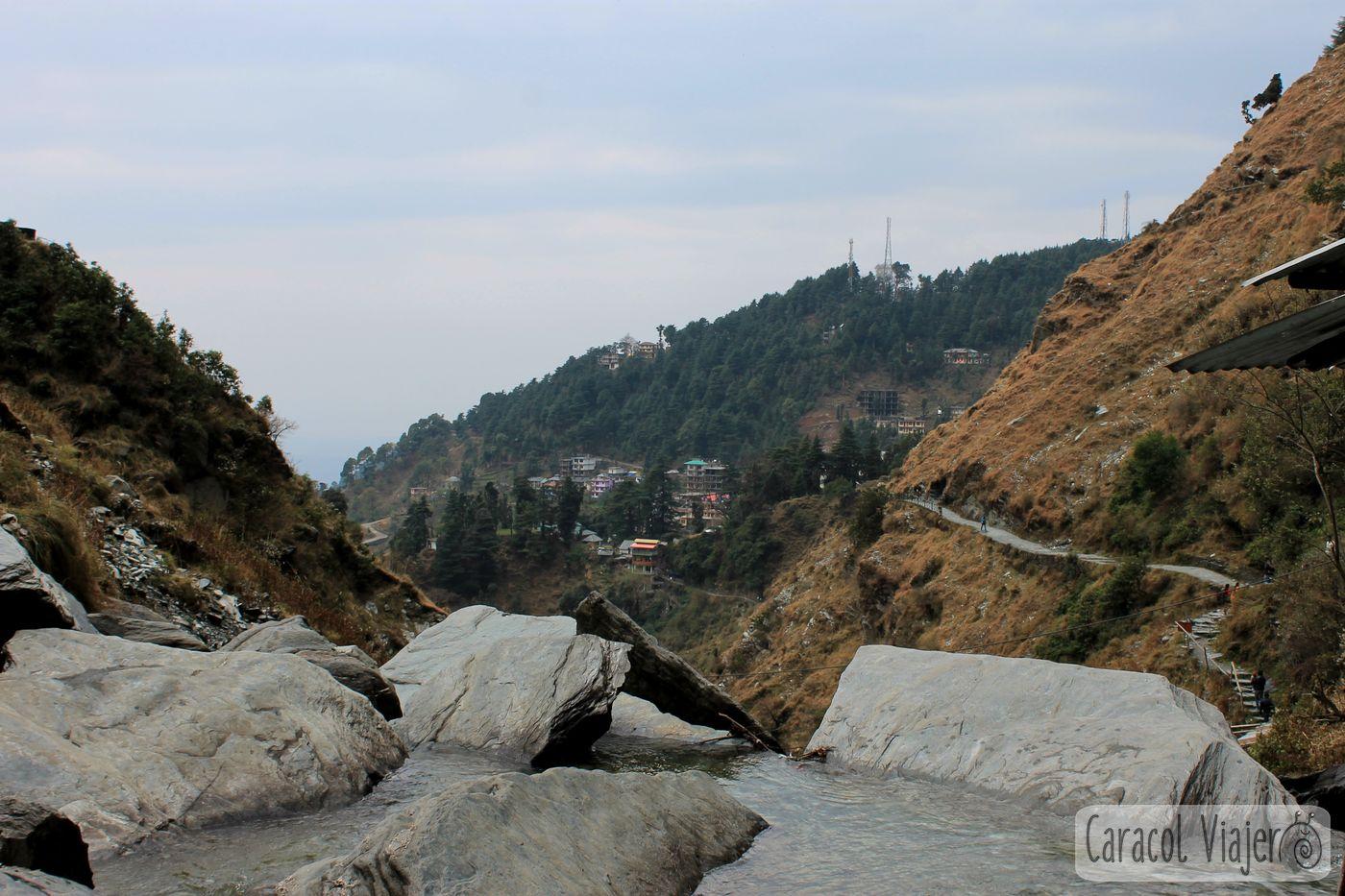 ¿Qué hacer en Mcleod Ganj? Cascada Baghsu
