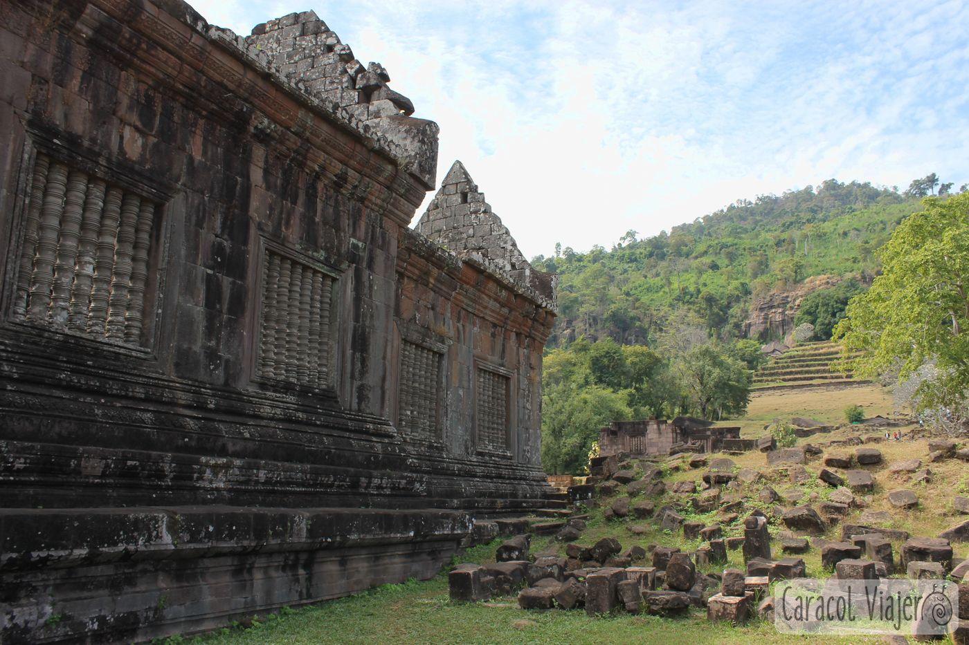 Temlo Wat Phu Champassak
