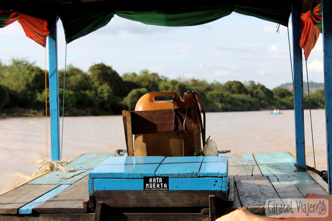 Embarcación Camboya