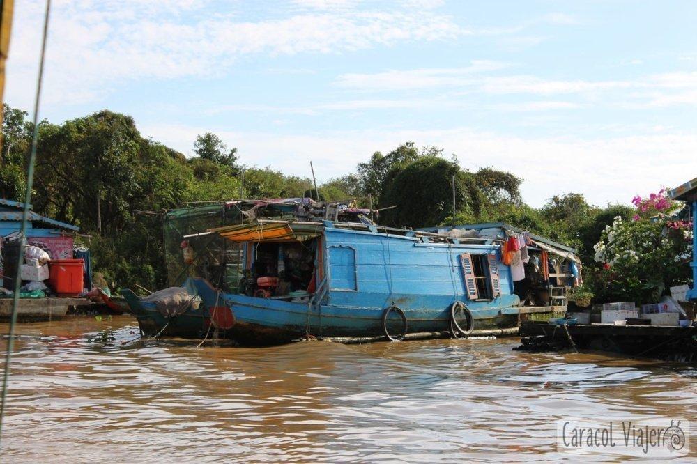 Casa barco Camboya