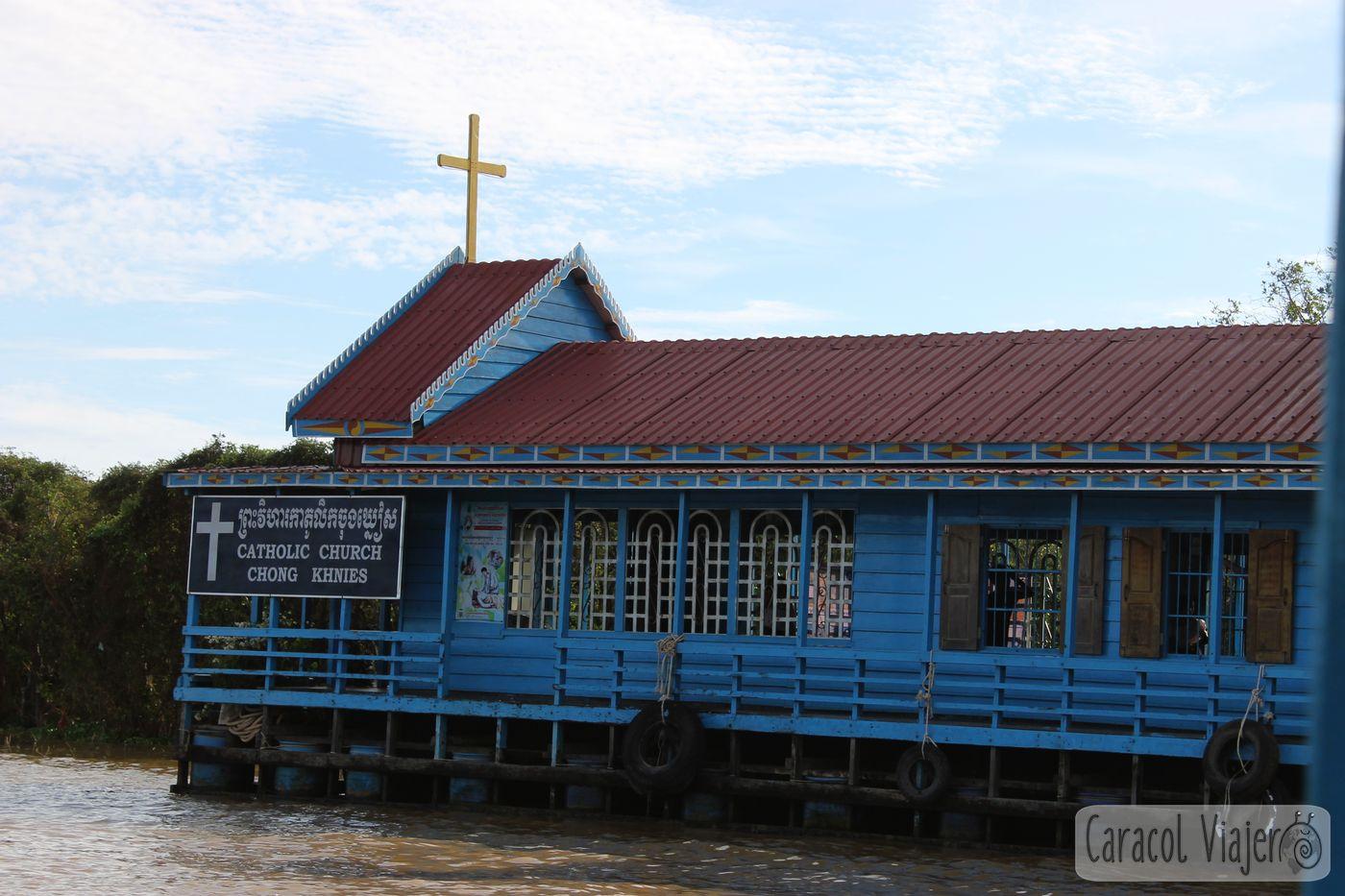 Iglesia católica flotante