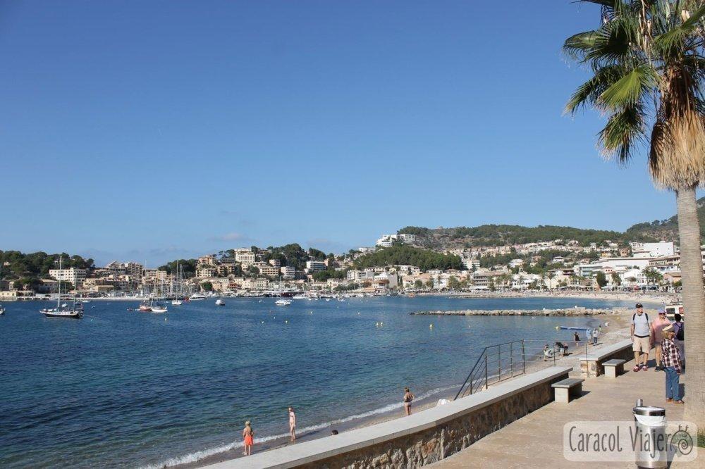 Puerto Sóller en Mallorca