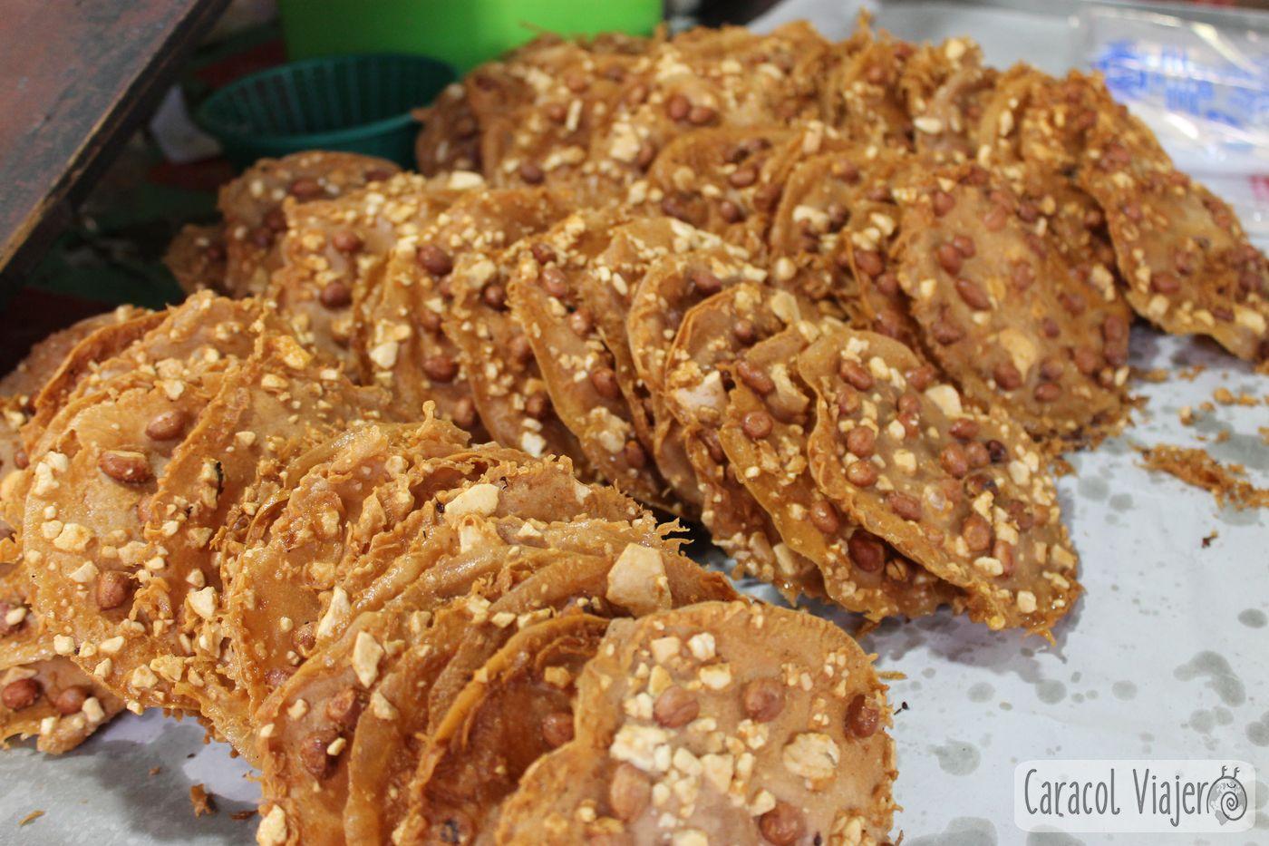 Cacahuete tortitas Ayutthaya