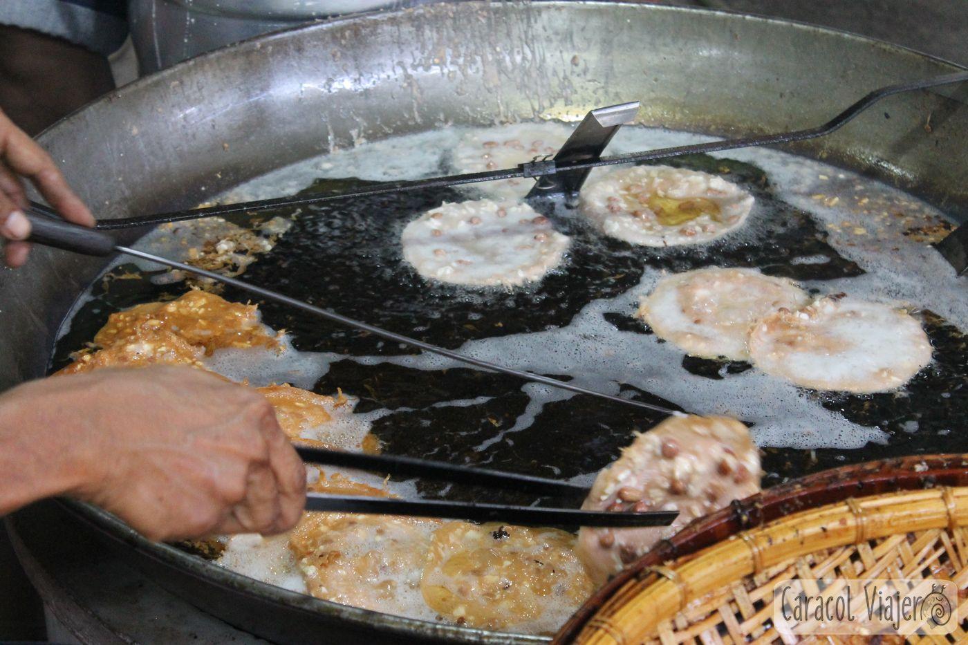 Tortitas de Ayutthaya