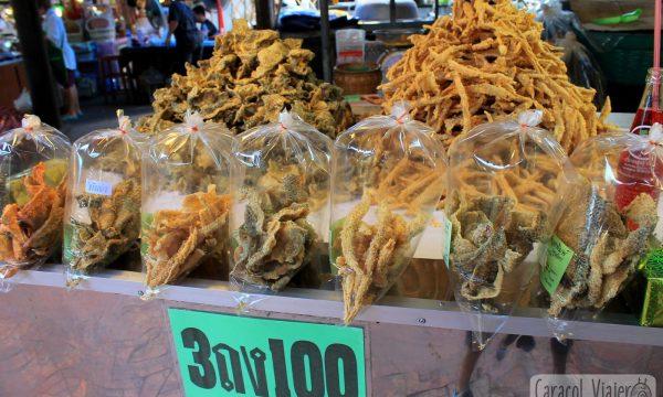 Guía de comida y precios para visitar Ayutthaya