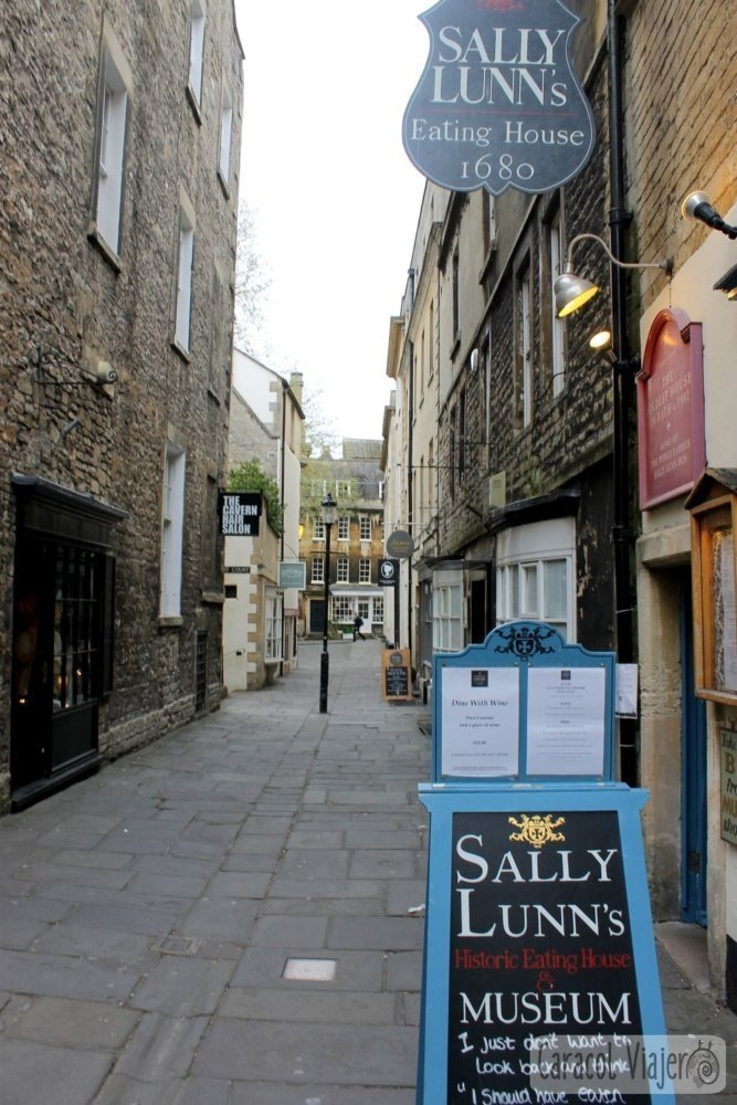 Sally Lunn casa antigua Bath