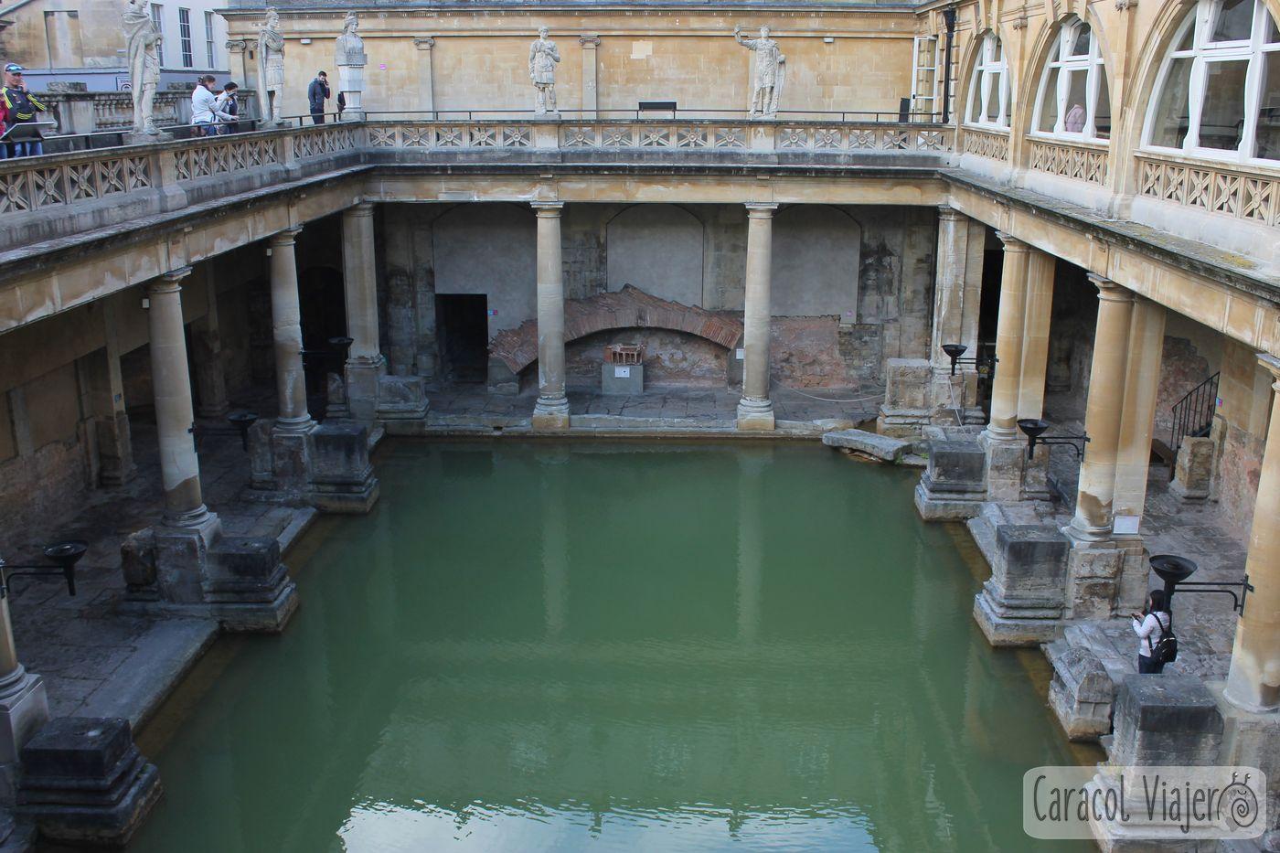 Exterior termas Bath
