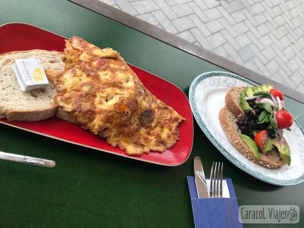 Desayunos en Holanda