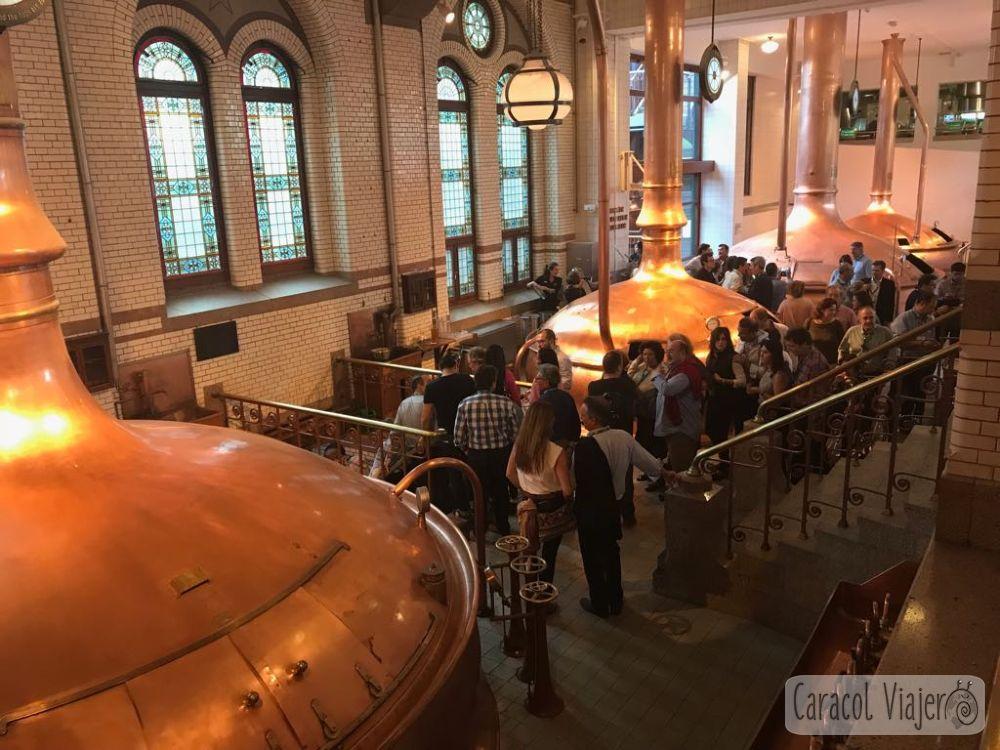 Visitar Holanda: la fábrica de Heineken en Ámsterdam