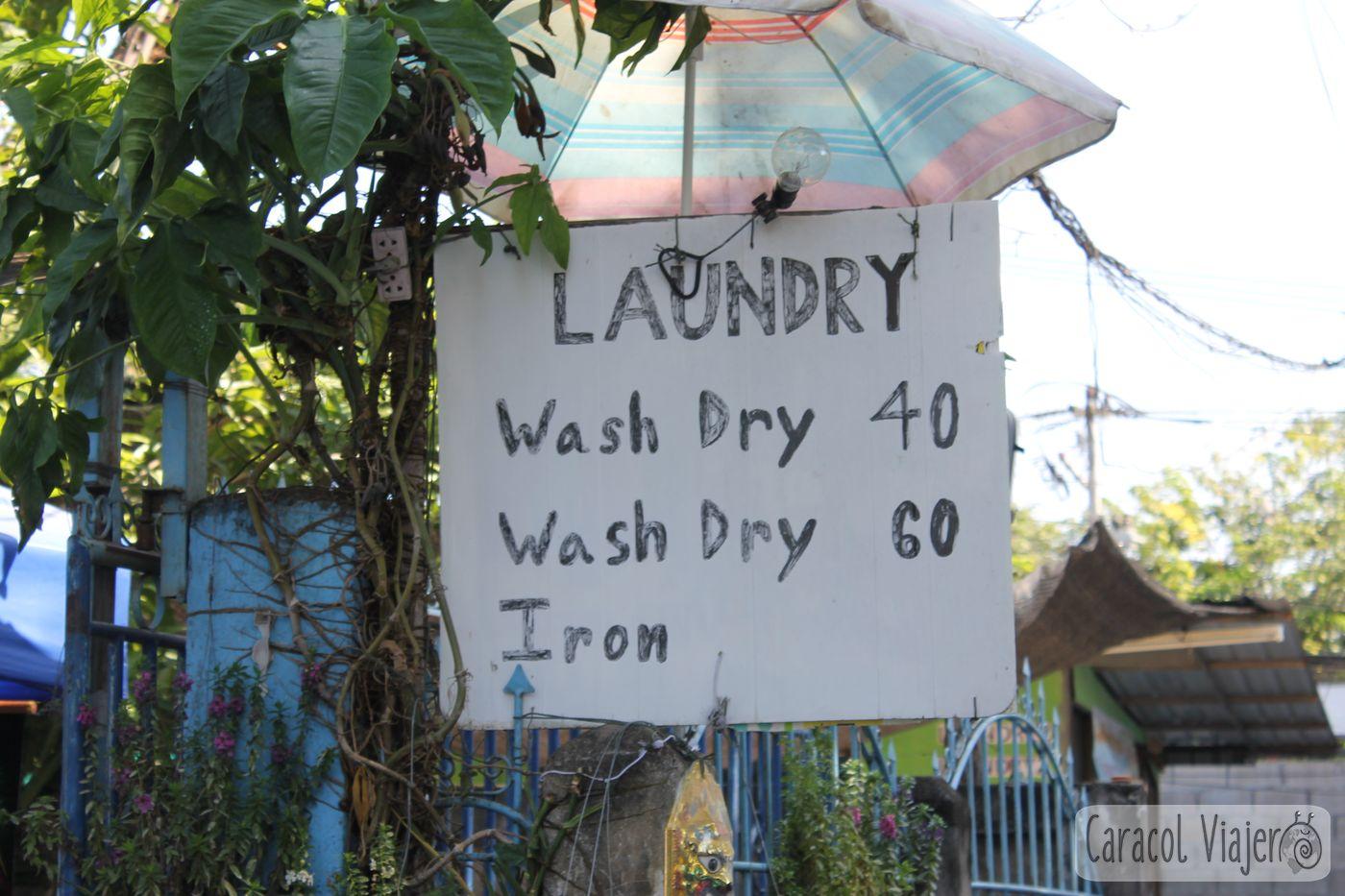 Tailandia lavandería