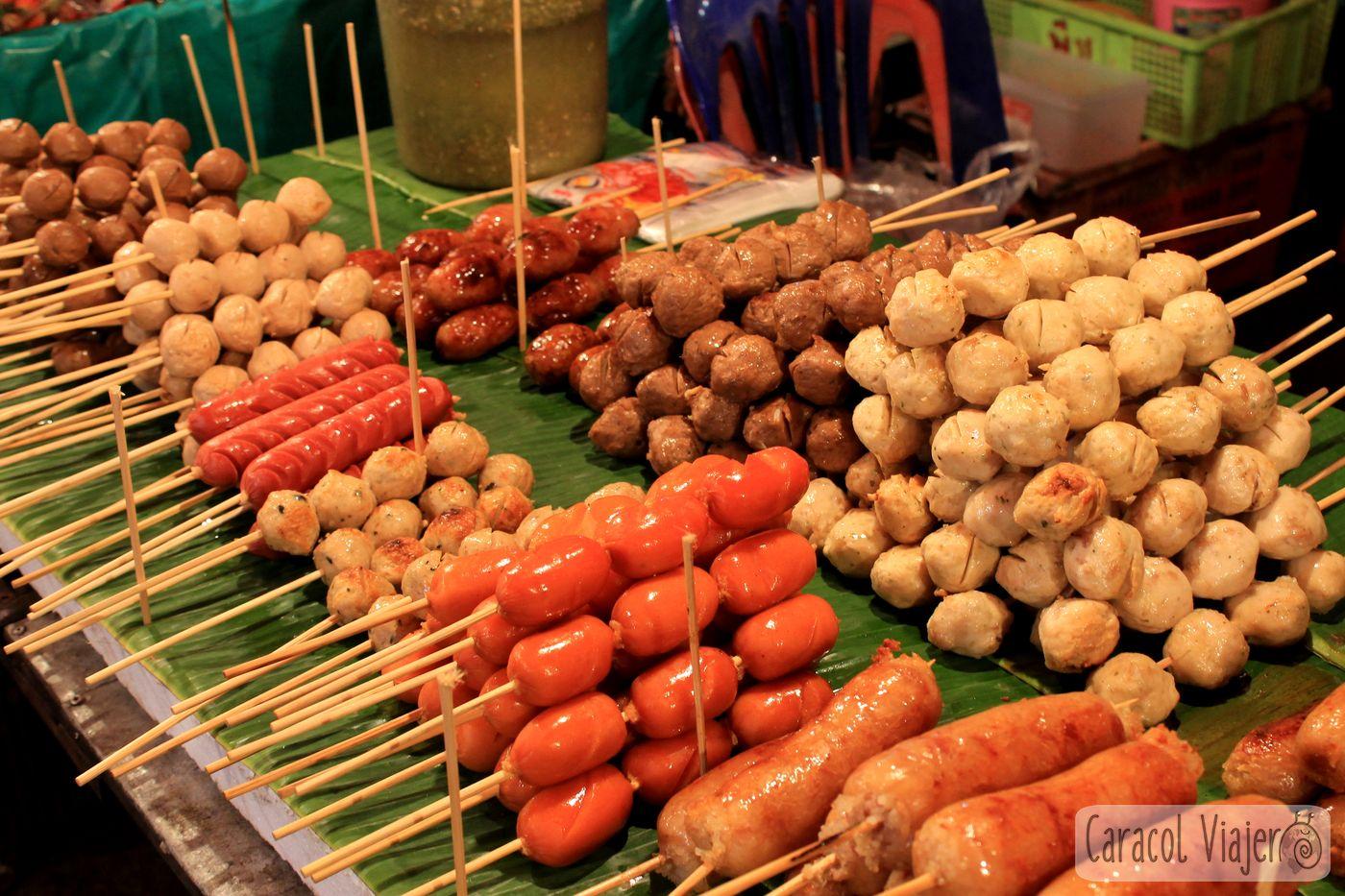 Tentempiés tailandeses
