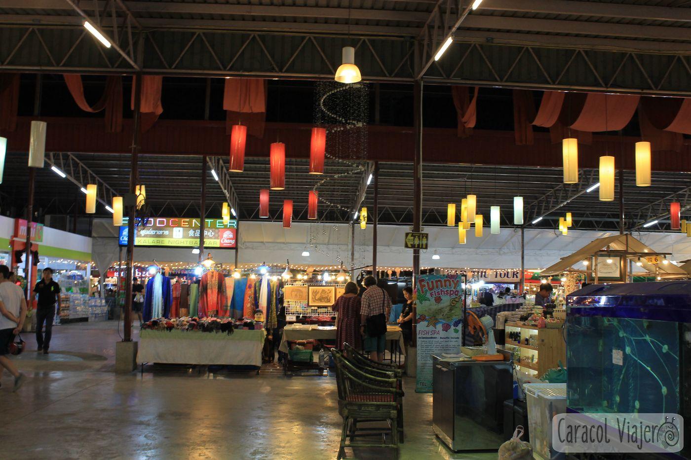 Kalare Night Market en Chiang Mai