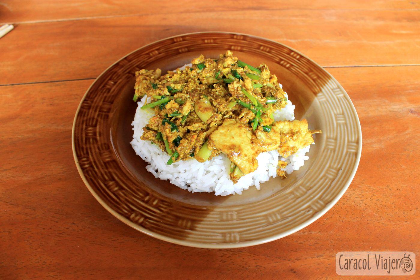 yellow curry - Tailandia