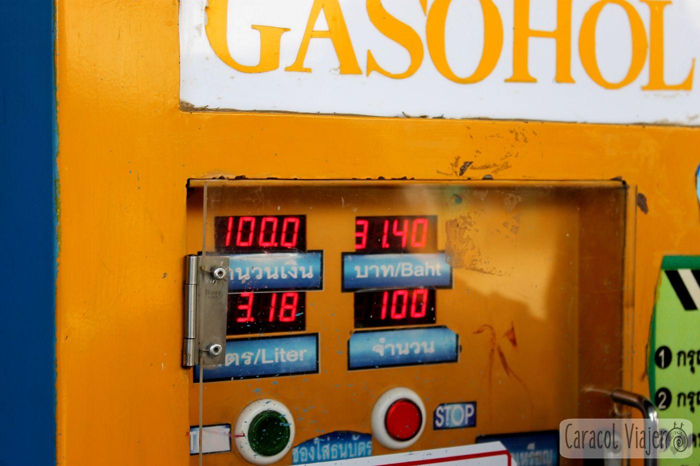 Doi Inthanon gasolina