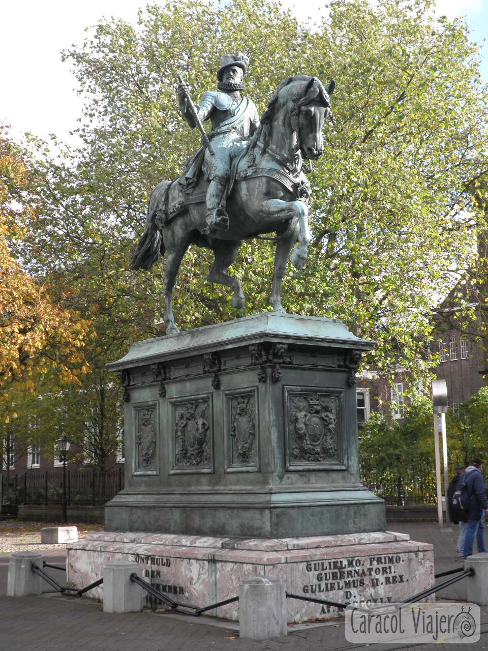 calle Nordeinde monumento