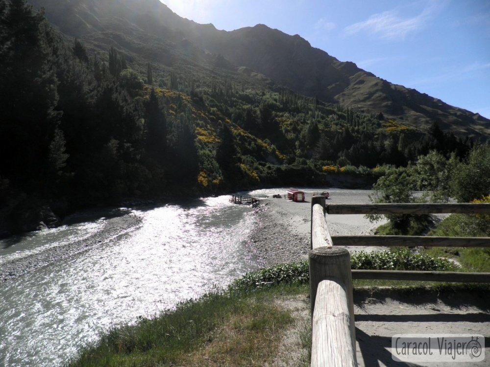 Cañón y río Kawarau