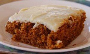 ¡Tarta de zanahoria americana facilísima!
