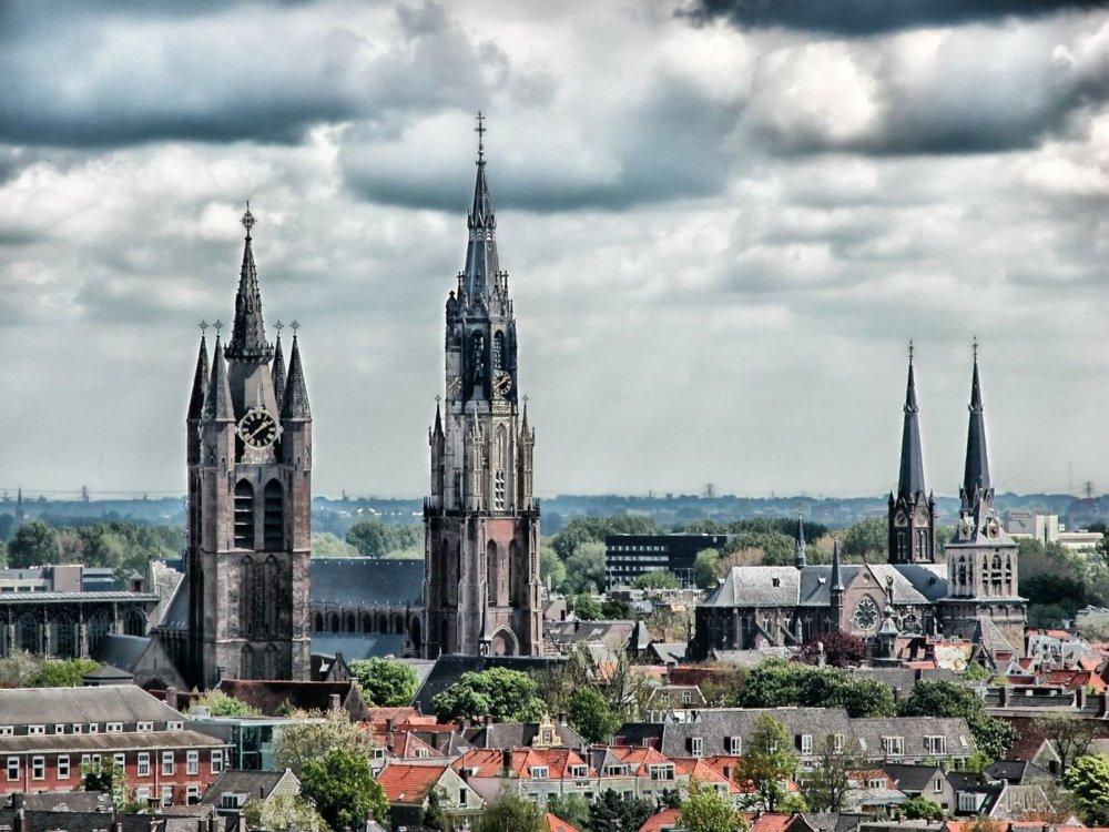 excursiones desde Ámsterdam: iglesias Delft