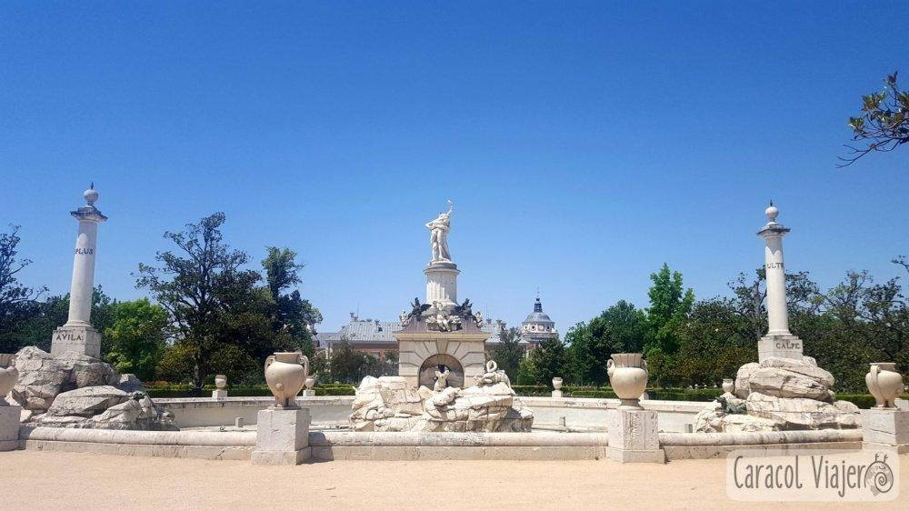 Palacio Aranjuez - Fuente de Hércules