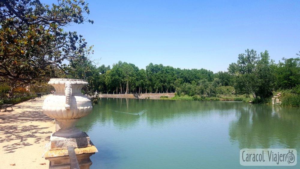 Río Tajo desde jardín del Parterre